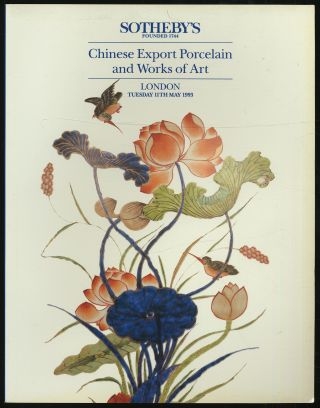 Chinese Export Porcelain and Works of Art