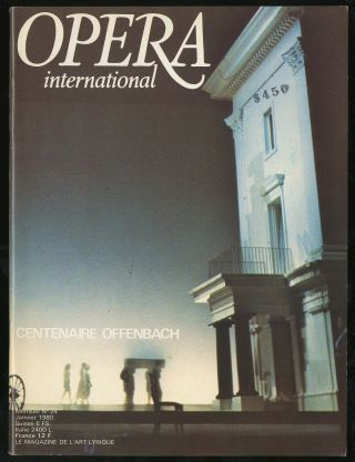 Opera International January 1980