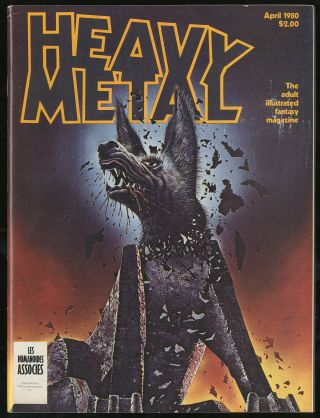 Heavy Metal Volume IV Number 1 April 1980, The Adult Illustrated Fantasy Magazine