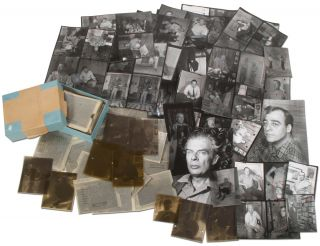 A Collection of Photo Negatives