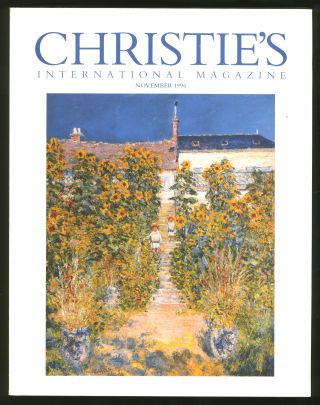 Christie's International Magazine: November 1996