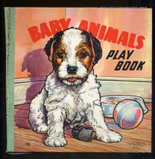 Baby Animals Play Book