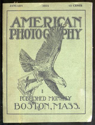 American Photography Volume VIII Number 1, January, 1914