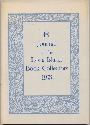 Journal of the Long Island Book Collectors 1975
