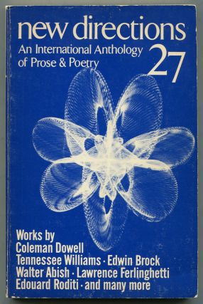 New Directions in Prose and Poetry 27. Coleman DOWELL, John H. Galey, Edwin Brock, Nicholas...
