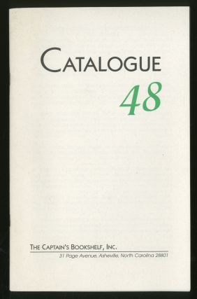 Catalogue 48: The Captain's Bookshelf, Inc