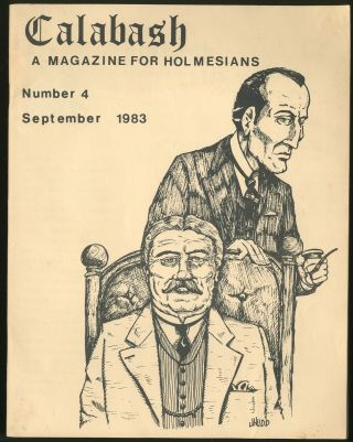 Calabash: A Magazine for Holmesians Number 4 September 1983
