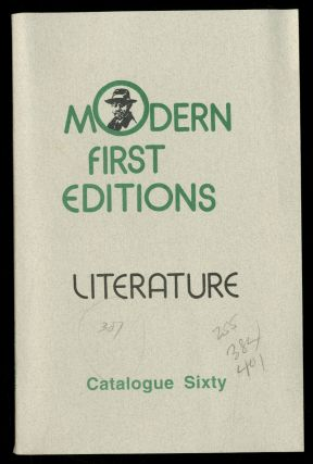 Joseph the Provider Books: Catalogue Sixty: Modern First Editions, Literature