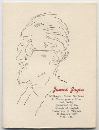 The Work of James Joyce. Edwin Berry BURGUM, James Joyce