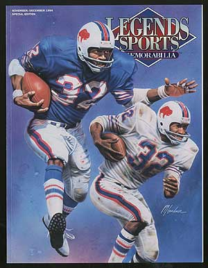 Legends Sports Memorabilia: Volume 7, Number 4, Nov./Dec. 1994