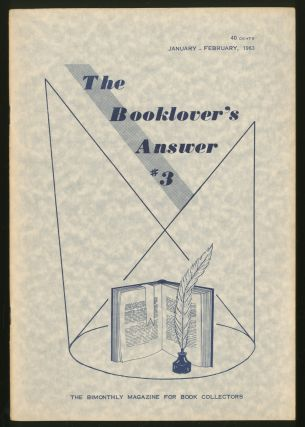 The Booklover's Answer: #3, January-February, 1963