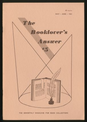 The Booklover's Answer: #5, May-June 1963