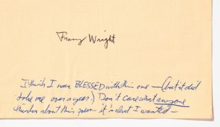 A Collection of Franz Wright Poems and Letters to a Fellow Poet