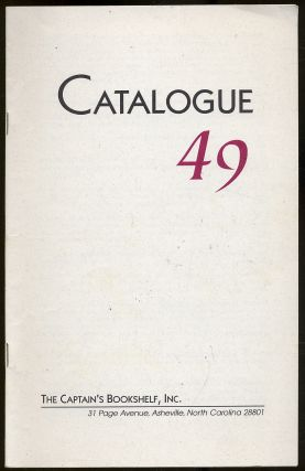 Catalogue 49: The Captain's Bookshelf, Inc