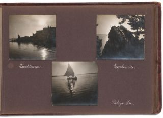 Family Album with Photos of Switzerland (Circa 1928)