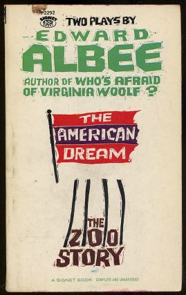 The American Dream and The Zoo Story. Edward ALBEE
