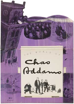 Counter Display] The World of Chas Addams. Charles ADDAMS
