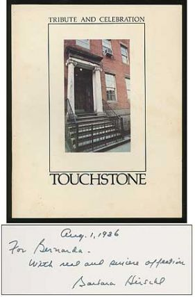 A Celebration of the Touchstone Gallery and a Tribute to its Founder Barbara Hirschl