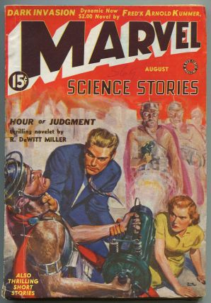 Pulp magazine]: Marvel Science Stories – August 1939, Volume 1, Number 5. Frederick Arnold...