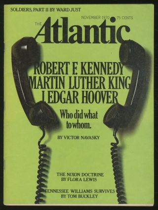The Atlantic: November 1970, Volume 226, No. 5. Robert MANNING, Tennessee Williams