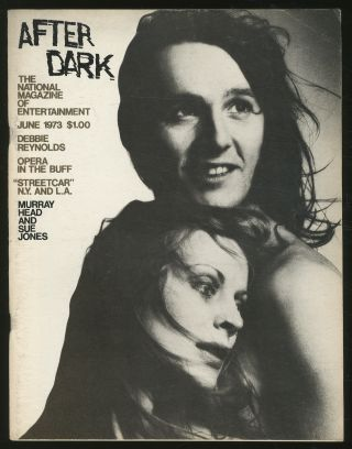 After Dark: June 1973, Volume 6, No. 2. William COMO, Tennessee Williams