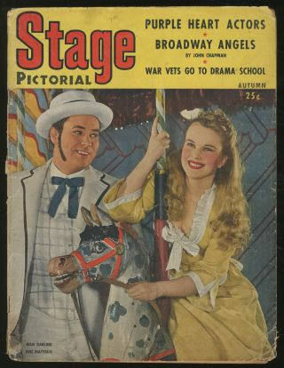 Stage Pictorial: Autumn, 1945, Volume 2, Number 3. Nat N. DORMAN, Tennessee Williams