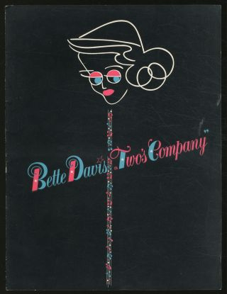 James Russo and Michael Ellis Present Bette Davis in Two's Company