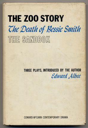 The Zoo Story, The Death of Bessie Smith The Sandbox. Edward ALBEE.