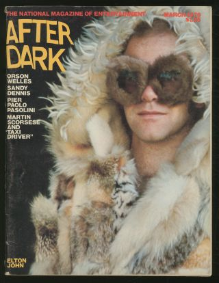 After Dark: March 1976, Volume 8, No. 11. William COMO, Tennessee Williams