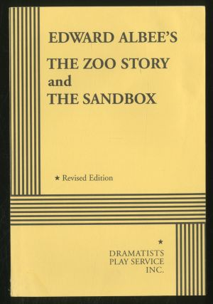 The Zoo Story and The Sandbox. Edward ALBEE