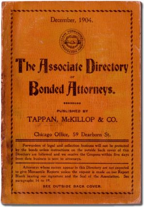 The Associate Directory of Bonded Attorneys. December 1904