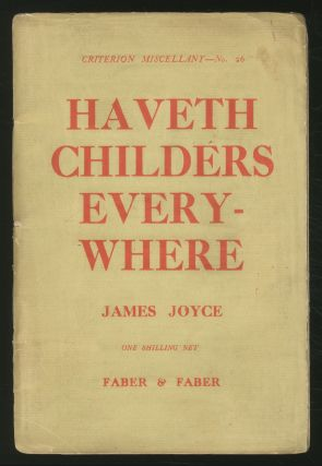 Haveth Childers Everywhere. James JOYCE