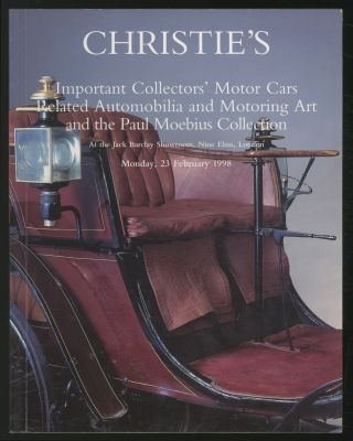 Christie's: Important Collectors' Motor Cars Related Automobilia and Motoring Art and the Paul...
