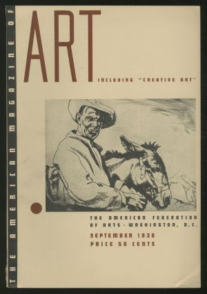 The American Magazine of Art: September 1936, Volume 29, Number 9