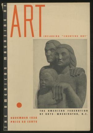 The American Magazine of Art: November 1936, Volume 29, Number 11