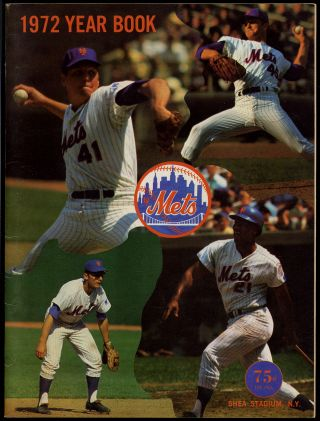 New York Mets 1972 Year Book