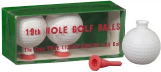19th Hole Golf Balls: The Only True Liquid Center Golf Balls