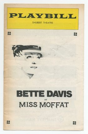Playbill]: Miss Moffat