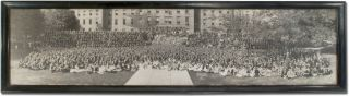 Panoramic Photograph]: Penn State, State College (Class of 1922