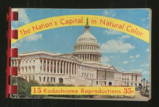 The Nation's Capital in Natural Color: 15 Kodachrome Reproductions