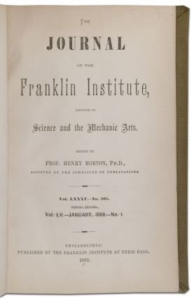Journal of The Franklin Institute (1866-1879)