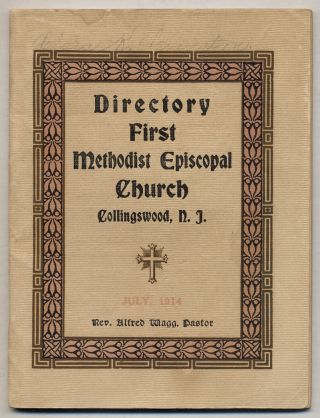Directory First Methodist Episcopal Church. Collingswood, N.J