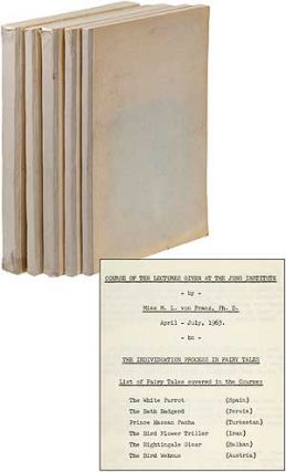 Five Volumes of Lectures Given at the Jung Institute Concerning Fairy Tales [later published as...