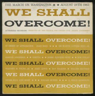 Vinyl Record]: We Shall Overcome! The March on Washington August 28th 1963