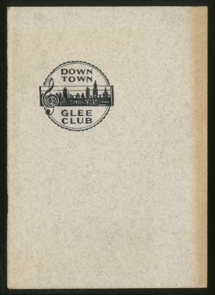 Down Town Glee Club: Thirty-Sixth Season, 1960-1962: Spring Concert