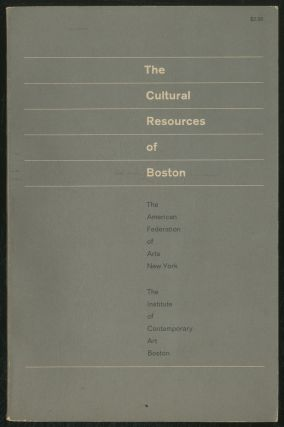 The Cultural Resources of Boston