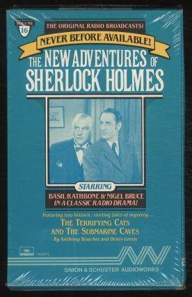 The New Adventures of Sherlock Holmes: The Terrifying Cats and The Submarine Caves Cassette of...