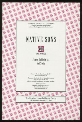 Native Sons: A Friendship that Created One of the Greatest Works of the 20th Century: Notes of a...