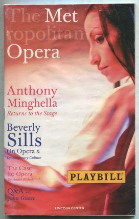 Playbill]: The Metropolitan Opera:September / October, 2006