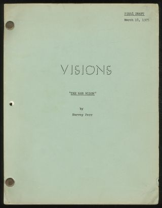 Screenplay]: Visions. Harvey PERR